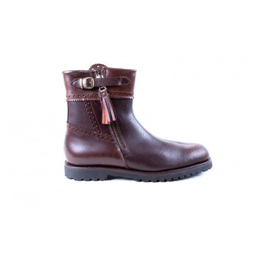 BROWN ANKLE BOOTS MODEL 186