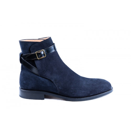 BLUE ANKLE BOOTS MODEL 1117